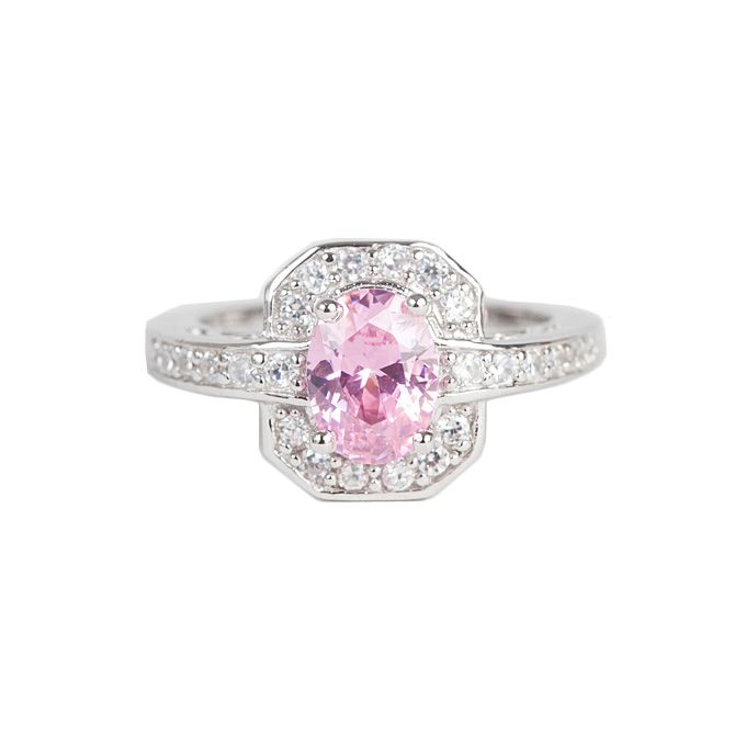 diamond wholesale cz size gold professional luxury set stone aaa wedding labcnhe pink simulated trendy ring white stones jewelry rings fashionable filled
