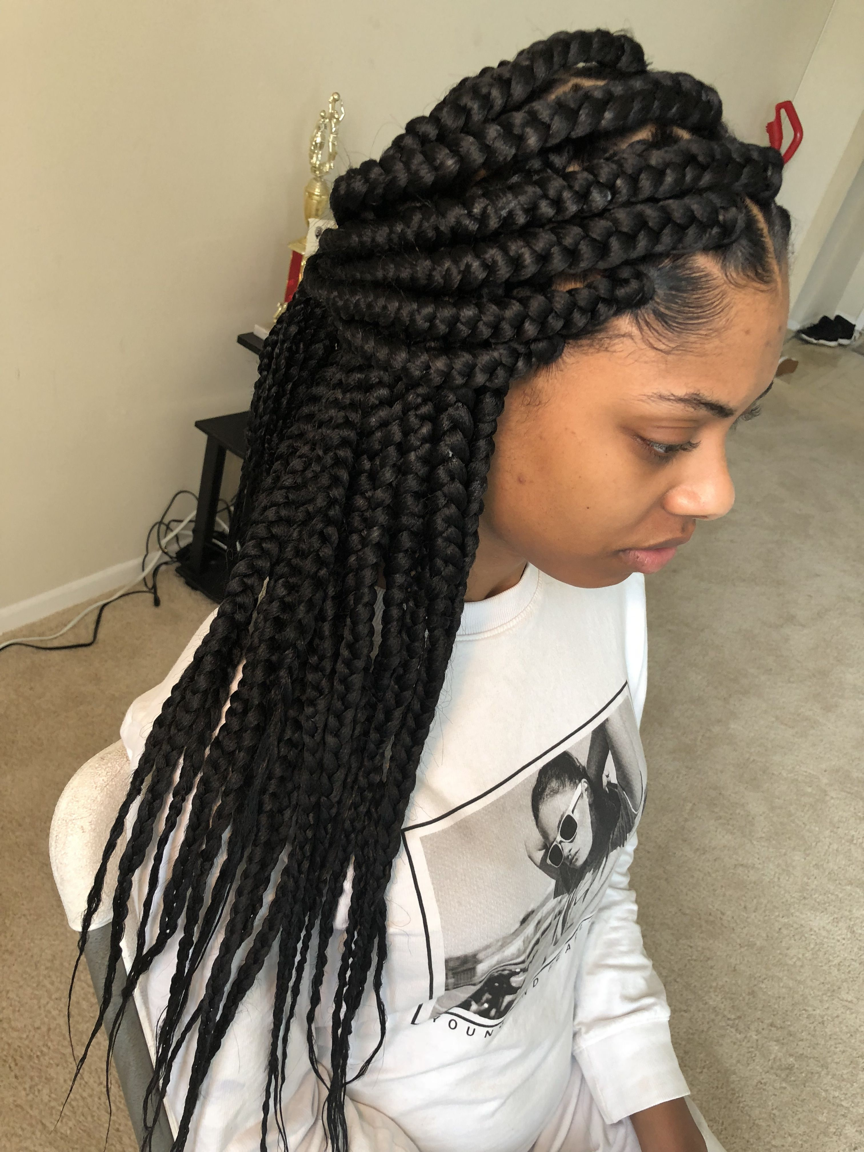 Jumbo Box Braids Dmv Braider By Petal Baker Braidsasyoulikeit On