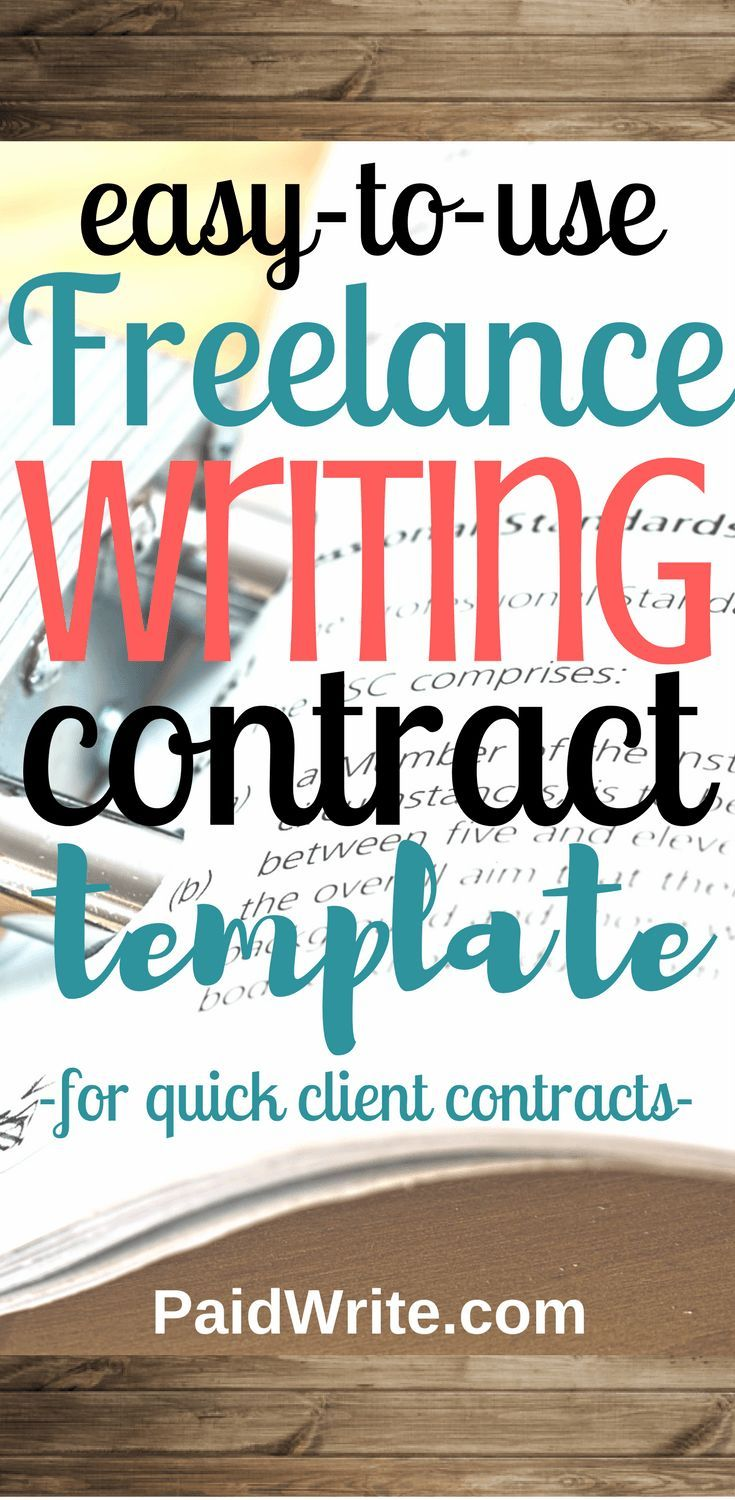 The Step Customizable Freelance Writing Contract Template