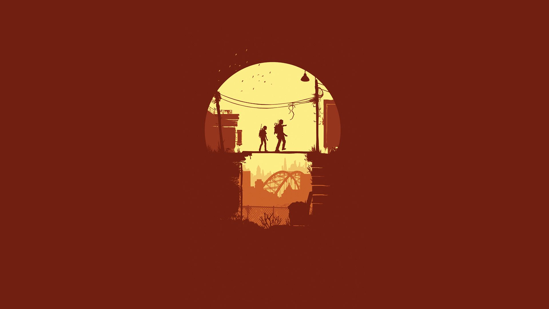 The Last Of Us Wallpapers Minimalist Artwork Gaming Wallpapers