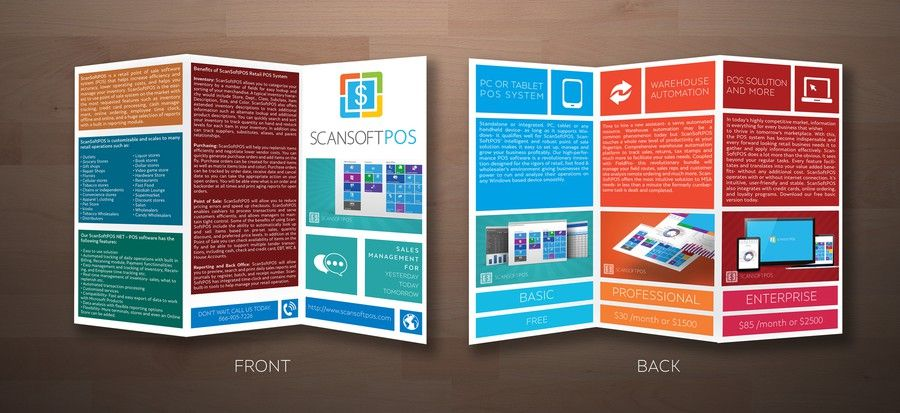 Software Brochure By Gregorm | Brochure Design | Pinterest | Brochures