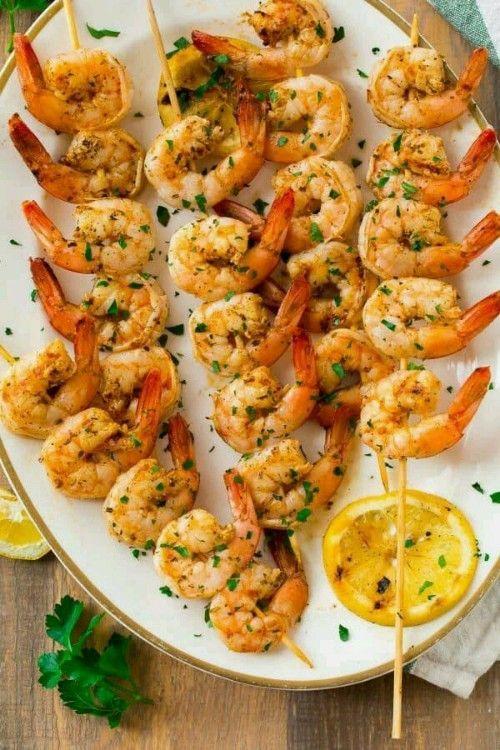 BBQ Grilled Shrimp Skewers Recipe