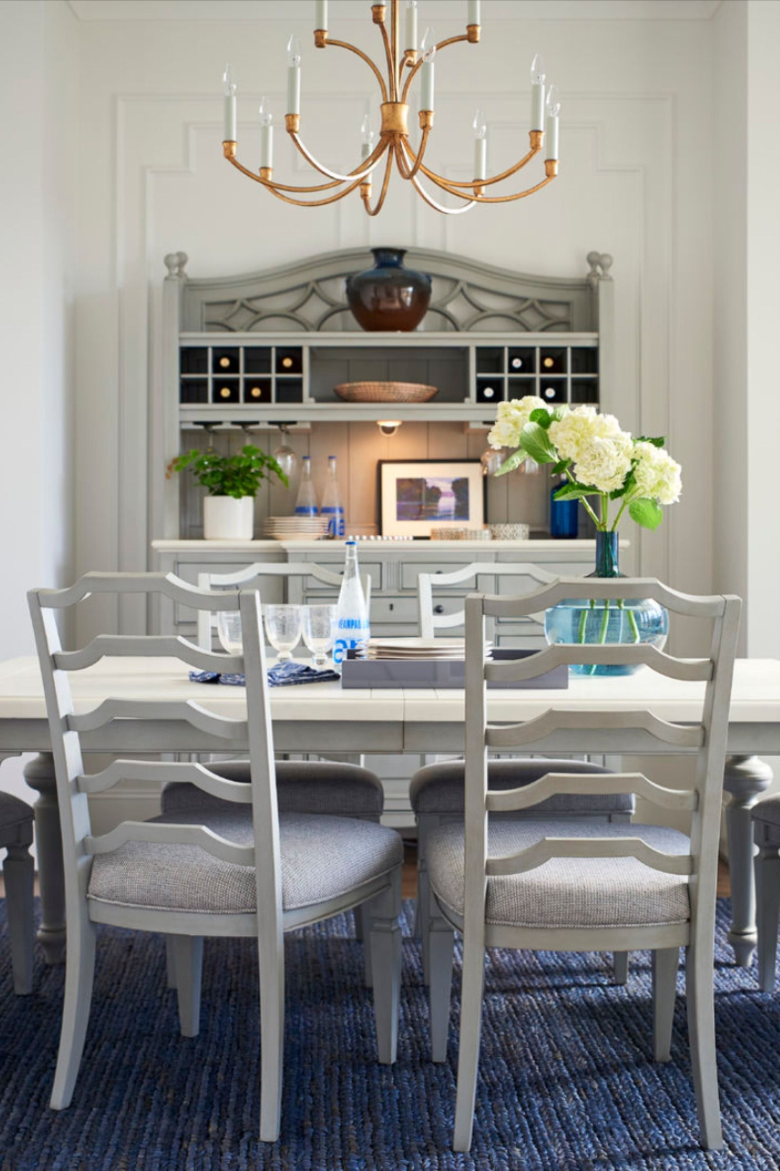 Summer Hill Ladder Back Side Chair Grey Dining Tables Side Chairs Dining Table