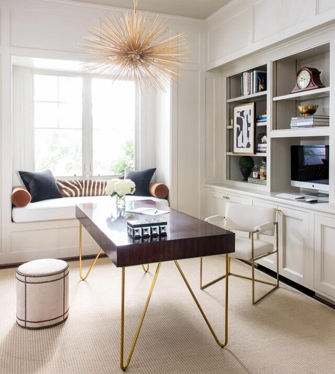 Strada Medium Round Chandelier Home Office Design Contemporary Office Design Home Office