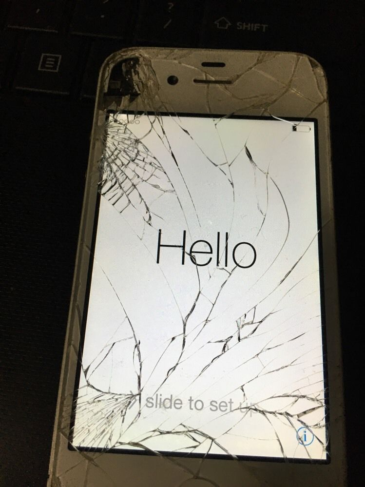 Iphone48gbapplesmartphonewhitesprintworkswell