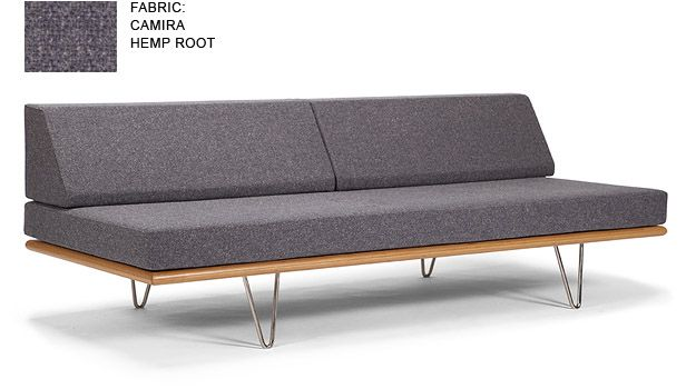Double Duty As Couch Bed W Back Cushions Removed Case Study Daybed Modernica