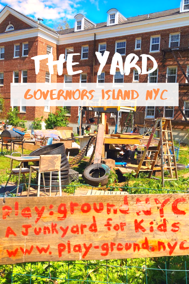 The Yard An Adventure Playground In Nyc Family Adventure Travel New York Travel Travel Usa