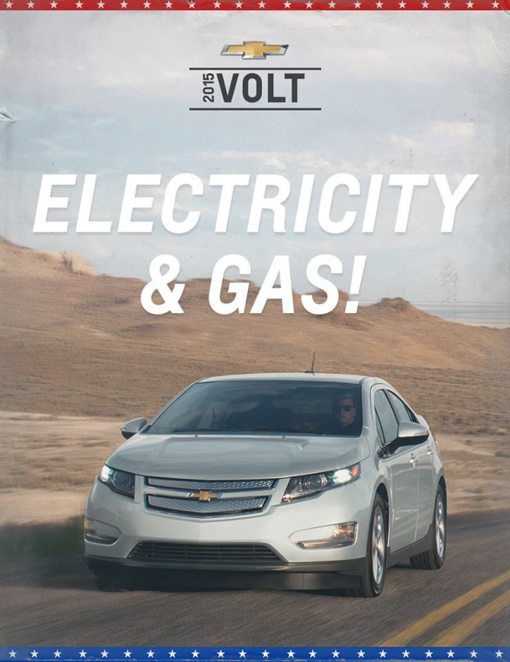 Rock The Volt And Choose Electricity Gas In 2015 See The Volt