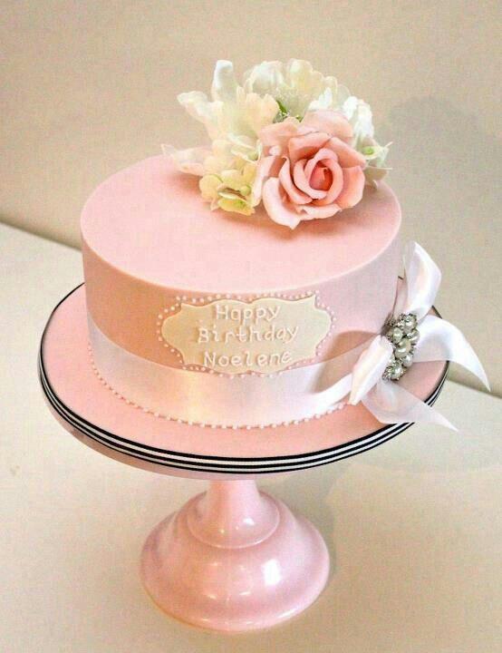Einfache Designs, Shabby Chic Kuchen, Hübsche Kuchen, Schöne Kuchen,  Festtagstorten, Cupcake Kuchen, Torten Design, Kekse