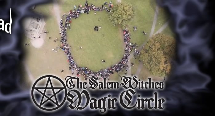The Salem Witches' Magic Circle on October 31, 2016!