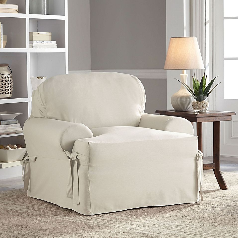 Perfect Fit Relaxed Fit Cotton Duck TCushion Chair