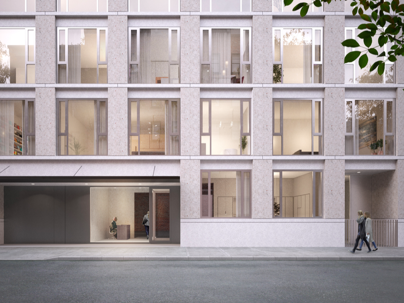 David Chipperfield S Unchanged West Village Condo Decried As Imperious By Lpc Facade Architecture Brick Architecture Brick Apartments