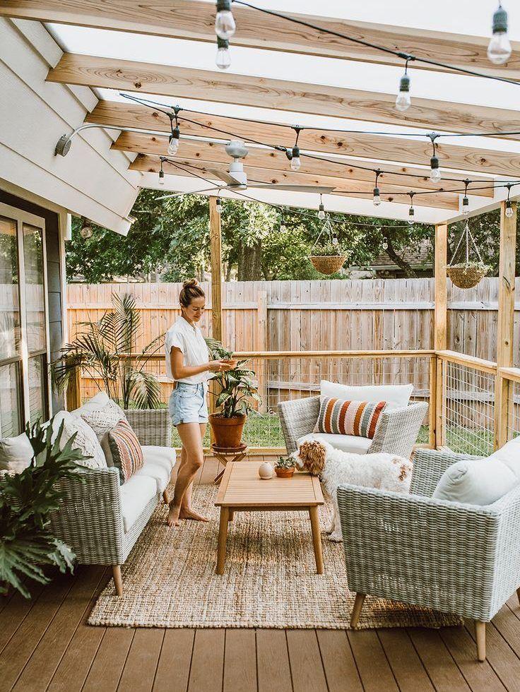 20 terrasses en bois pour profiter de l'été #décorationmaison