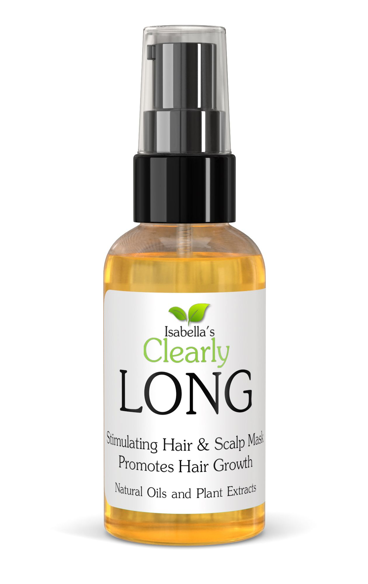 Natural Hair Treatment for Healthy Hair Growth | Plant Based, Vegan, Organic — Isabella's Clearly