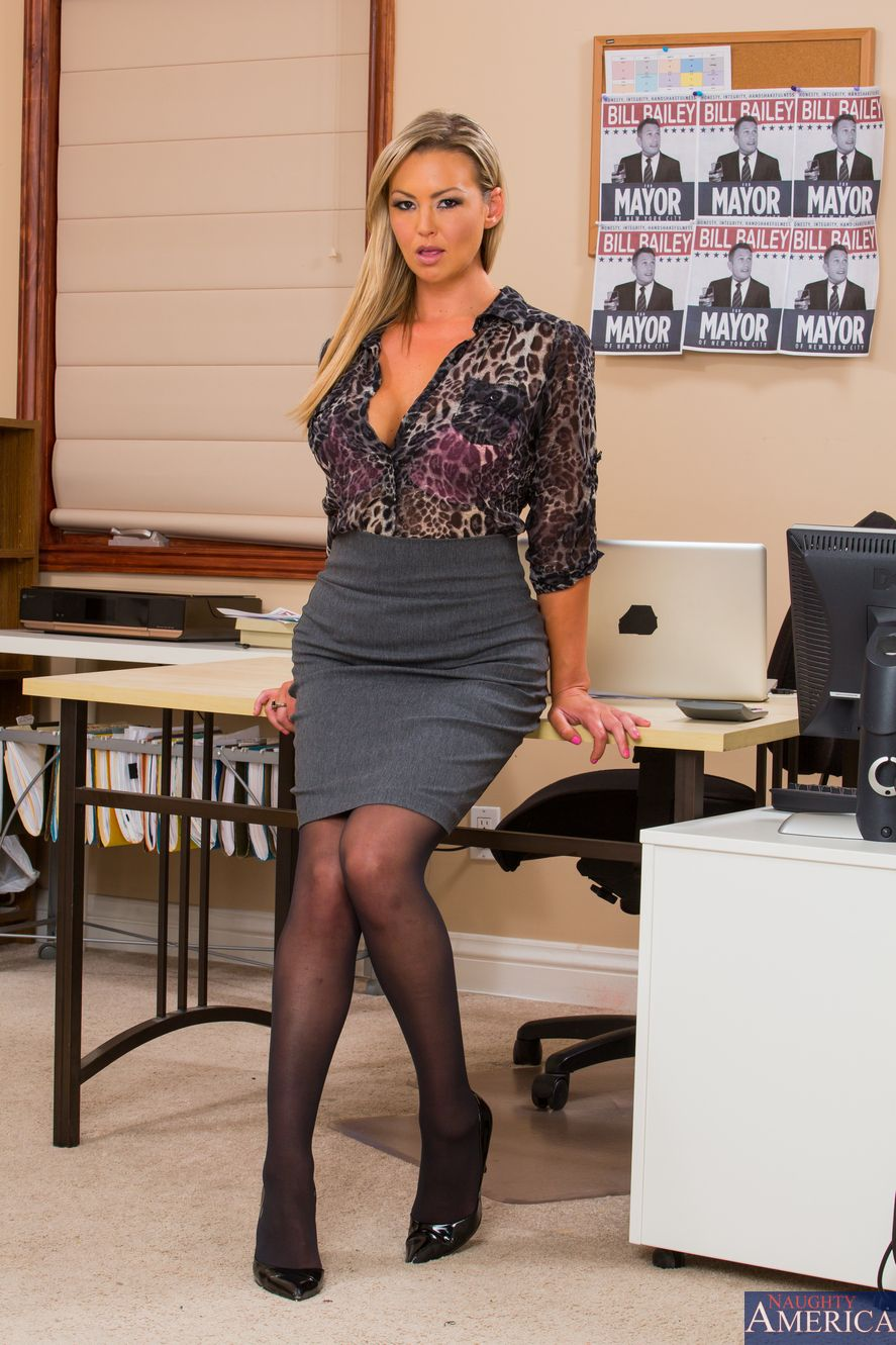 Office Pornstar In