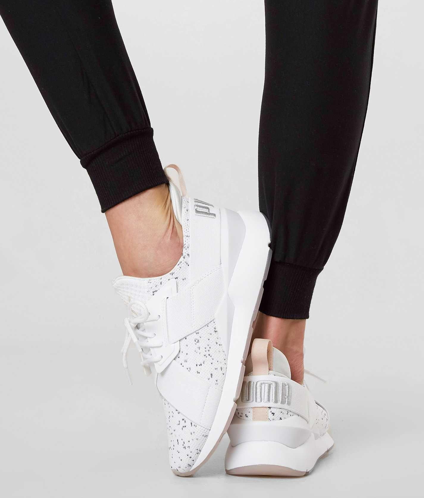 Puma Muse Solst Shoe - Women s Shoes in Puma White Pearl Gray Vio ... 6fa77fe73