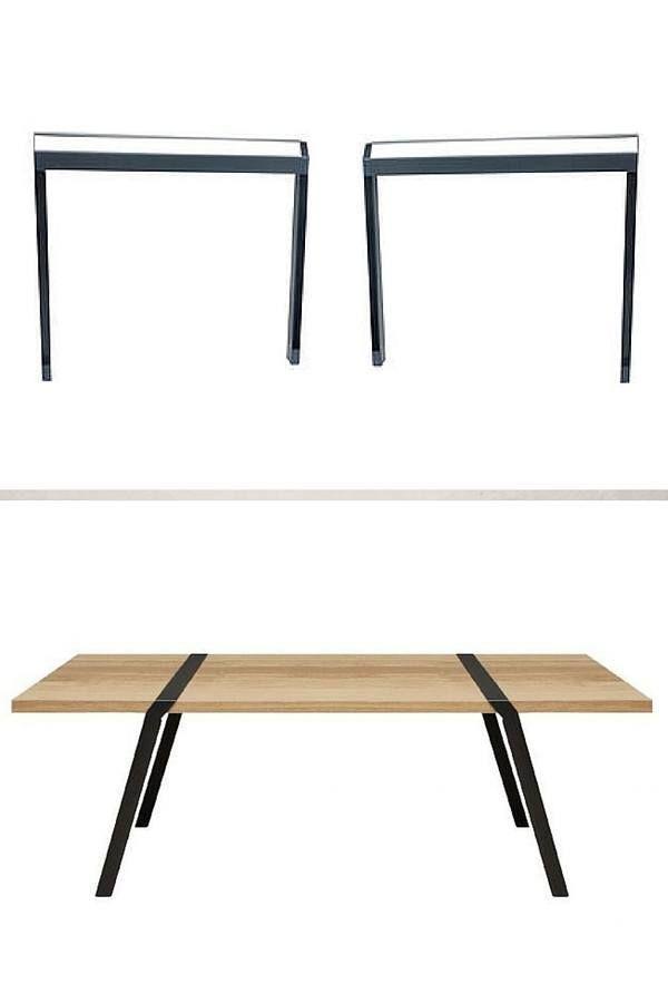 Treteaux Design 21 Idees Pour La Table Ou Le Bureau Treteaux Design Table A Manger Treteaux Table A Manger Pliable