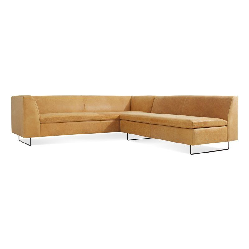 Bonnie And Clyde Leather 100 Symmetrical Sectional With Images Leather Sectional