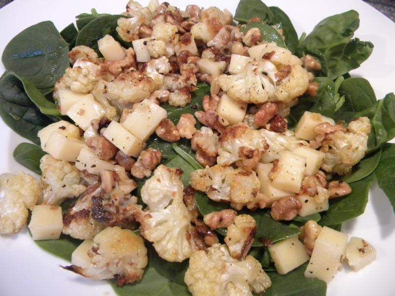 Hearty cauliflower salad breaks the mold cauliflower