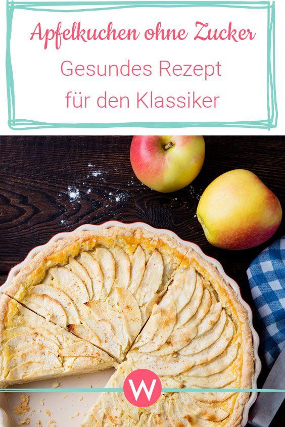 Apfelkuchen Ohne Zucker Der Klassiker In Der Zuckerfreien