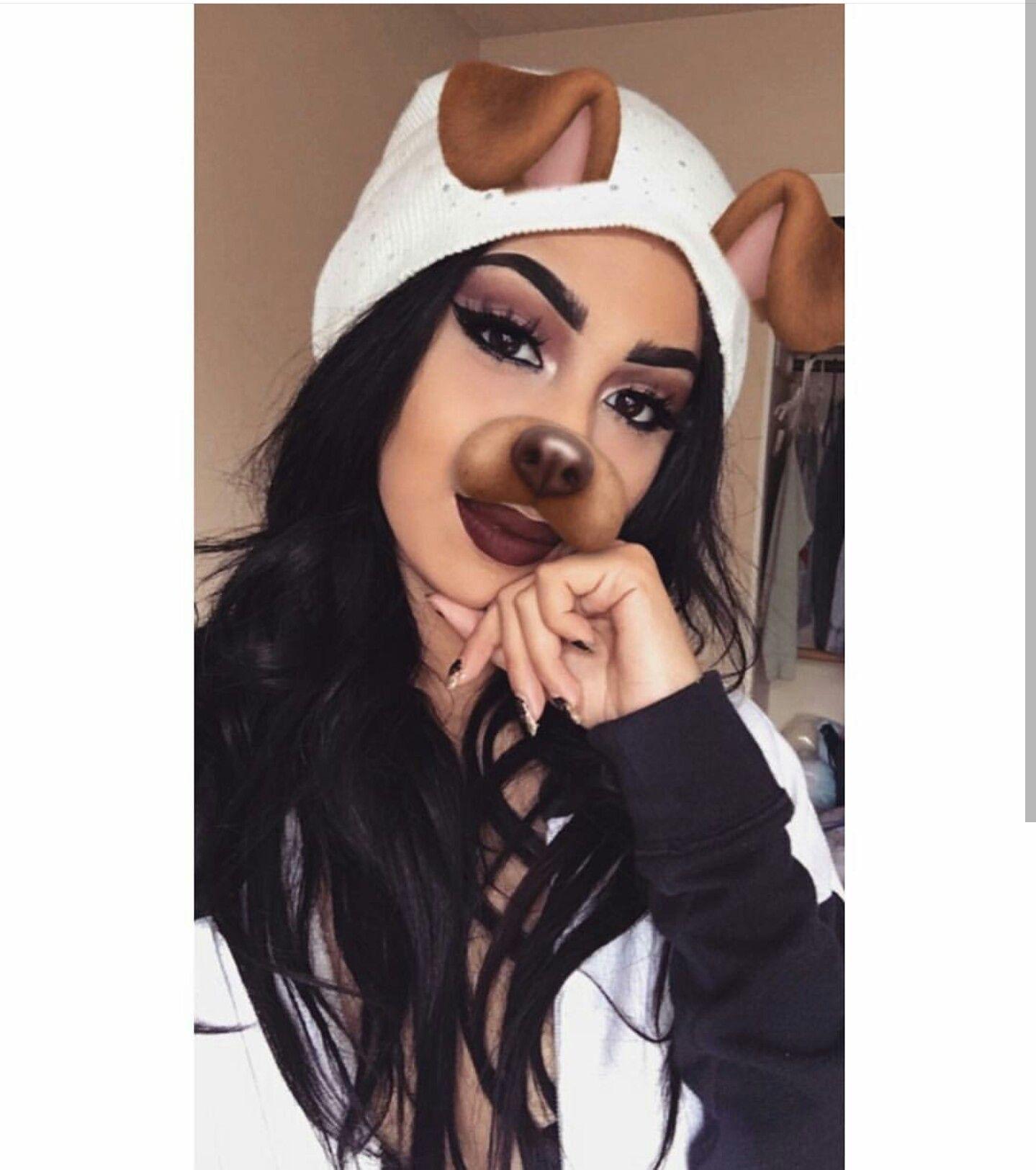 On Pinterest kitkatlovekesha ♡ ♡ Pin Snapchat Dog