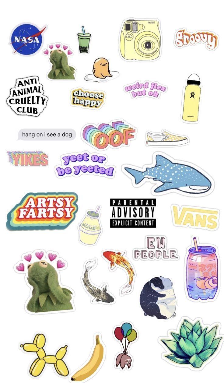 Sticker templates - #phonecase #Sticker #Templates #vscogirl Sticker templates - #phonecase #Sticker #Templates