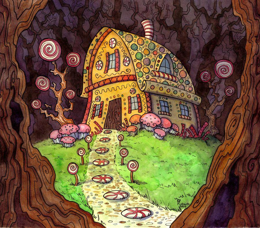 Сказочные домики из мультфильмов картинки