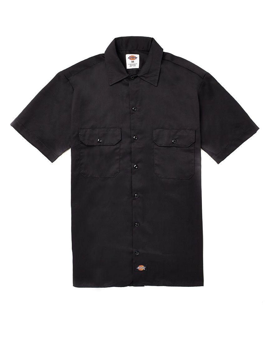 Dickies Short Sleeve Work Shirt   clothes   Pinterest   Dickies ... 07b23372323f