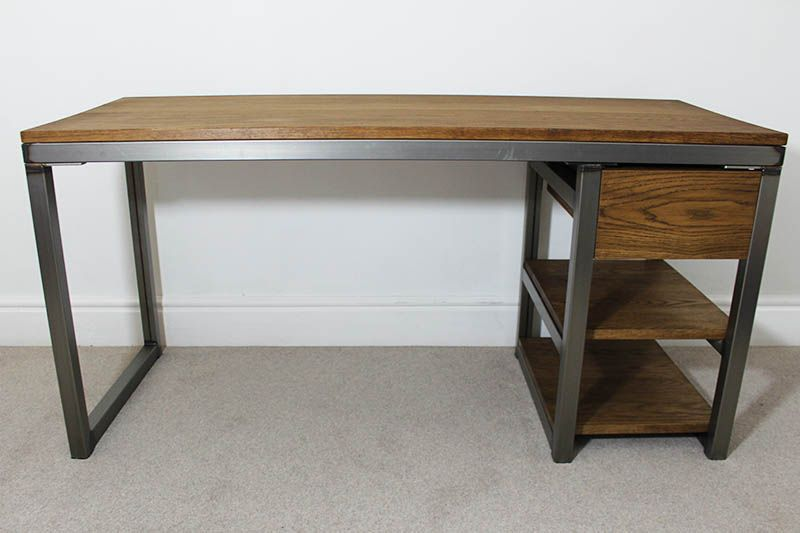 vintage style office furniture. Bespoke Vintage Style Industrial Office Desks UK | Russell Oak \u0026 Steel Furniture E