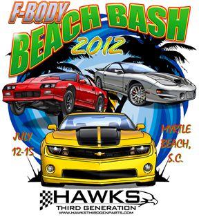 hawks third generation performance center f body myrtle beach bash t shirt http www grapeapedesign com automotive design beach design pinterest