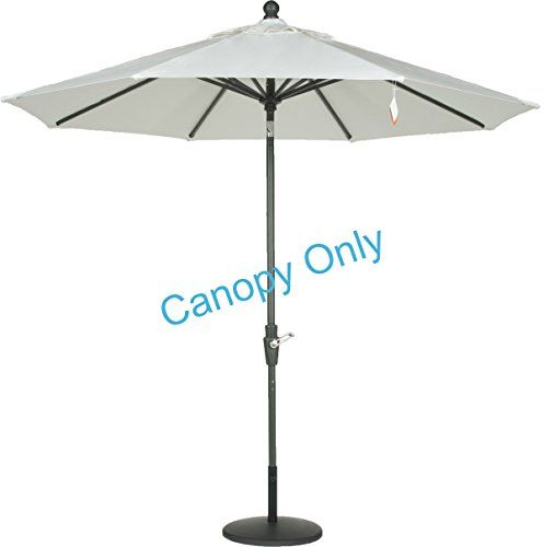 Sunbrella® Canopy Replacement For 9ft 8 Ribs Patio Umbrella  Natural (Canopy  Only)
