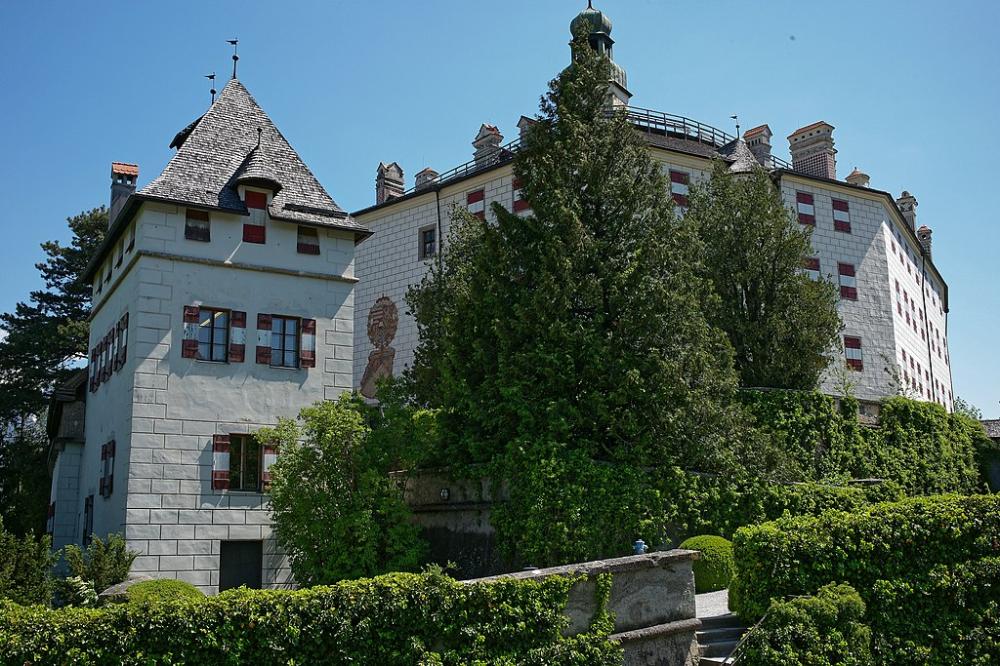 Schloss Ambras Park und Garten 26 - Category:Ambras Schloss und Garten - Wikimedia Commons