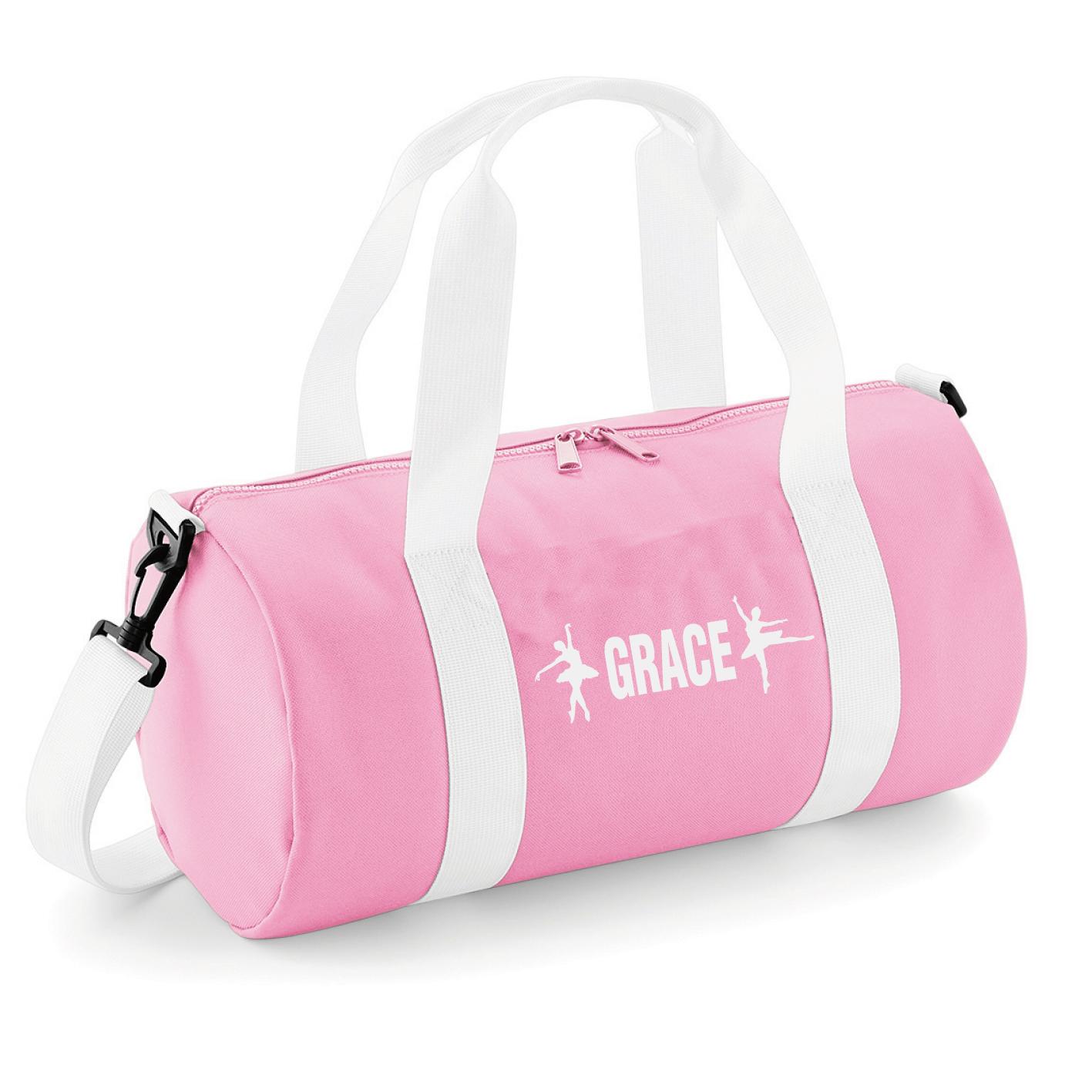 Personalised Name Gymnast Junior Dance Bag School Dance Girls Gymnastics Gym