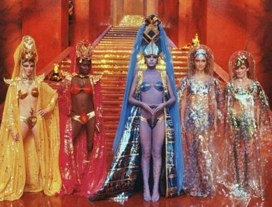 Flash Gordon Head pieces are remarkable & in pins we are getting closer to what i want 5 girls like this ...