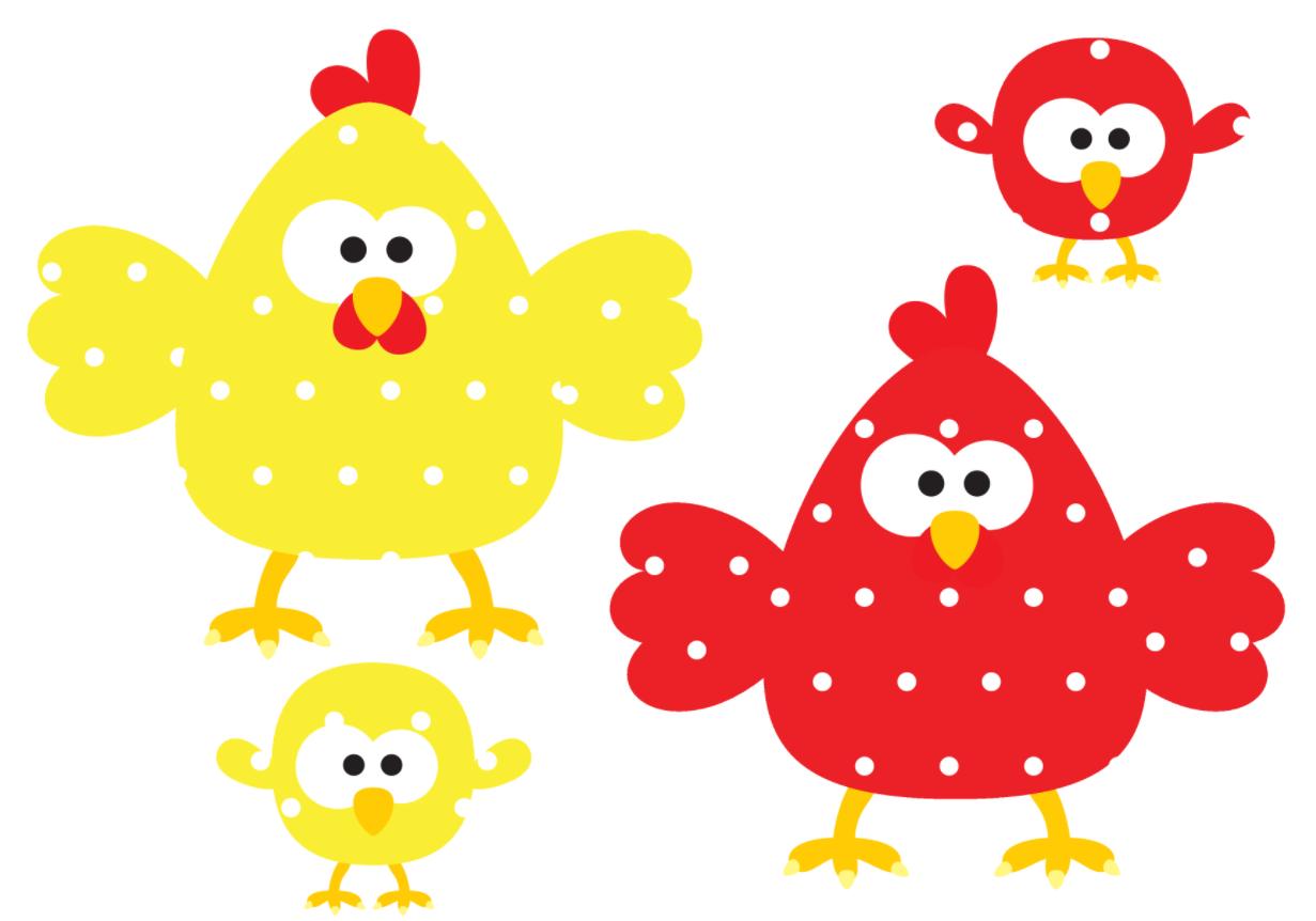 De Kip Het Kuiken En Het Ei Associeren