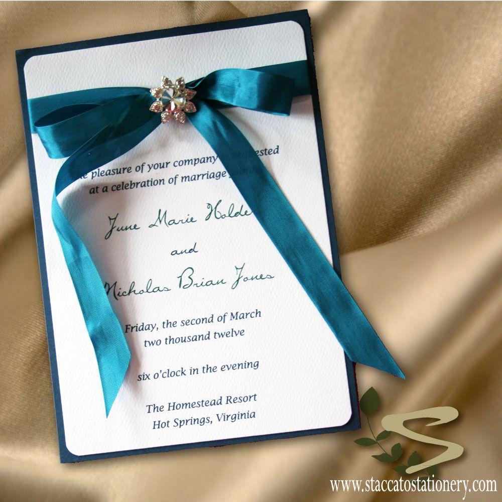 Ecofriendly wedding invitations in dusty jewel tones