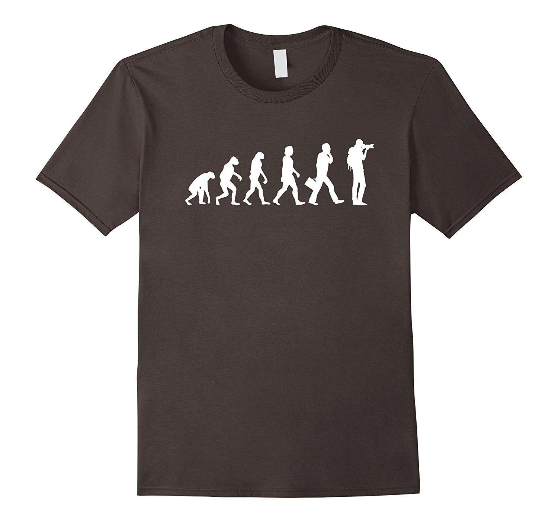 Funny Photographer Evolution Tee Shirt