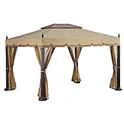 Replacement Canopy For Home Depot S Mediterra Gazebo 10 X12 Gazebo Replacement Canopy Canopy Outdoor