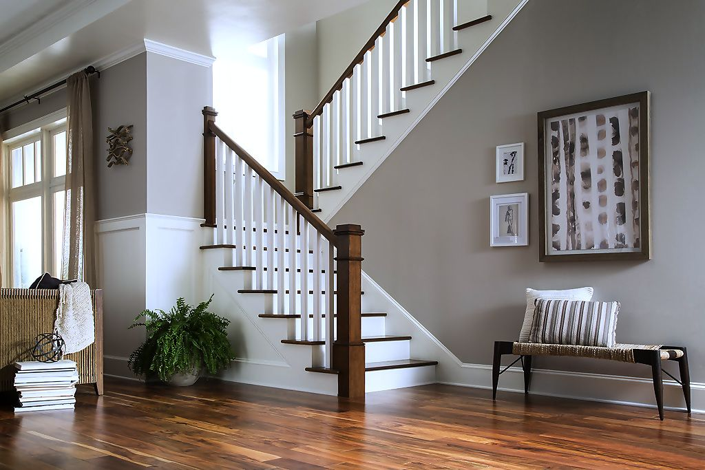 Best Attractive Straight Stairs Design For Home Stairway 400 x 300