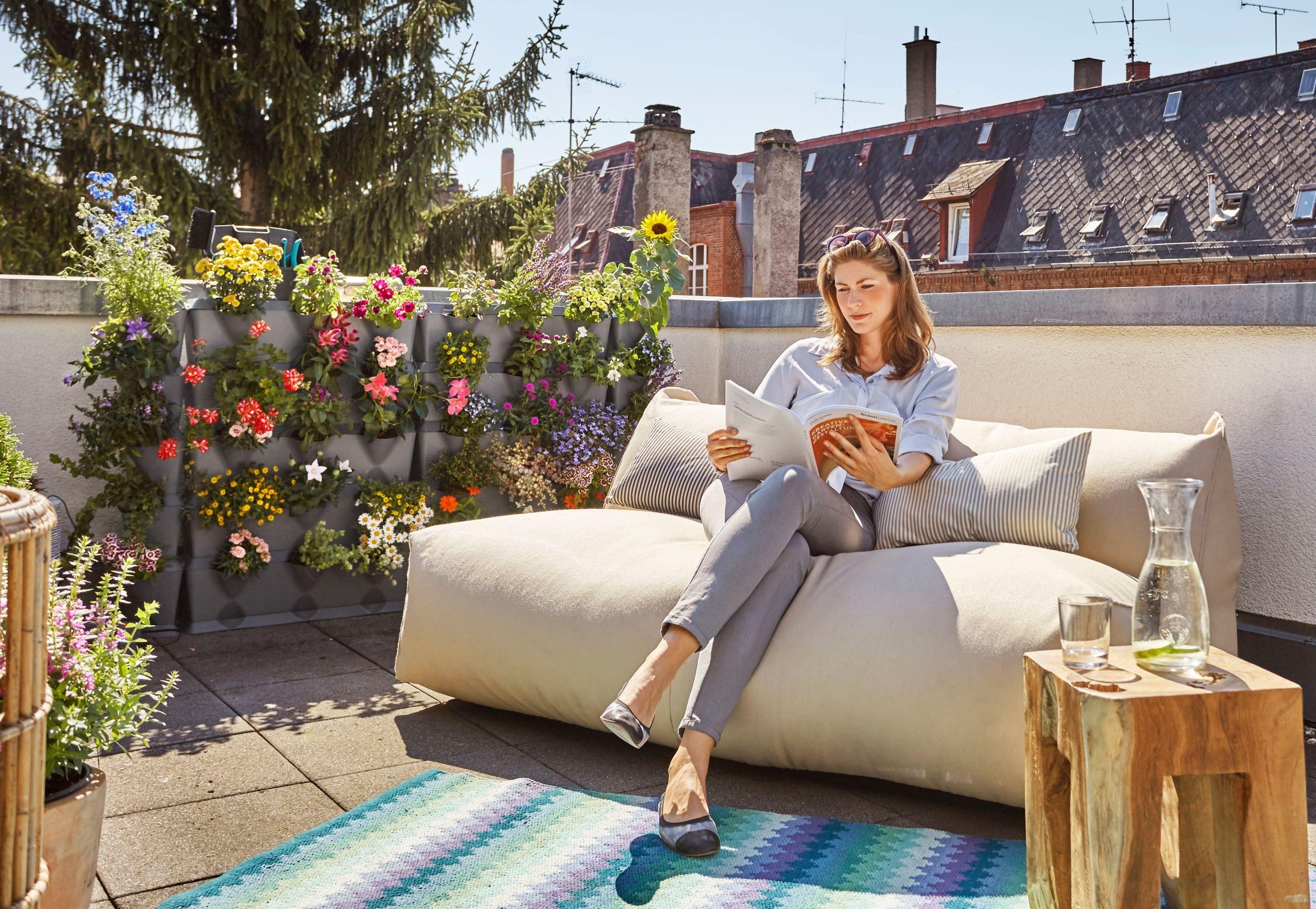 Tuinieren Op Balkon : Verticaal tuinieren op je terras balkon of dakterras met