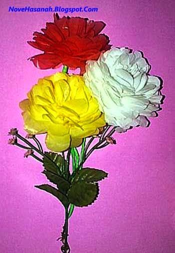 Cara Membuat Bunga Dahlia Dari Kantong Plastik Bekas Bunga Dahlia Dahlia Bunga