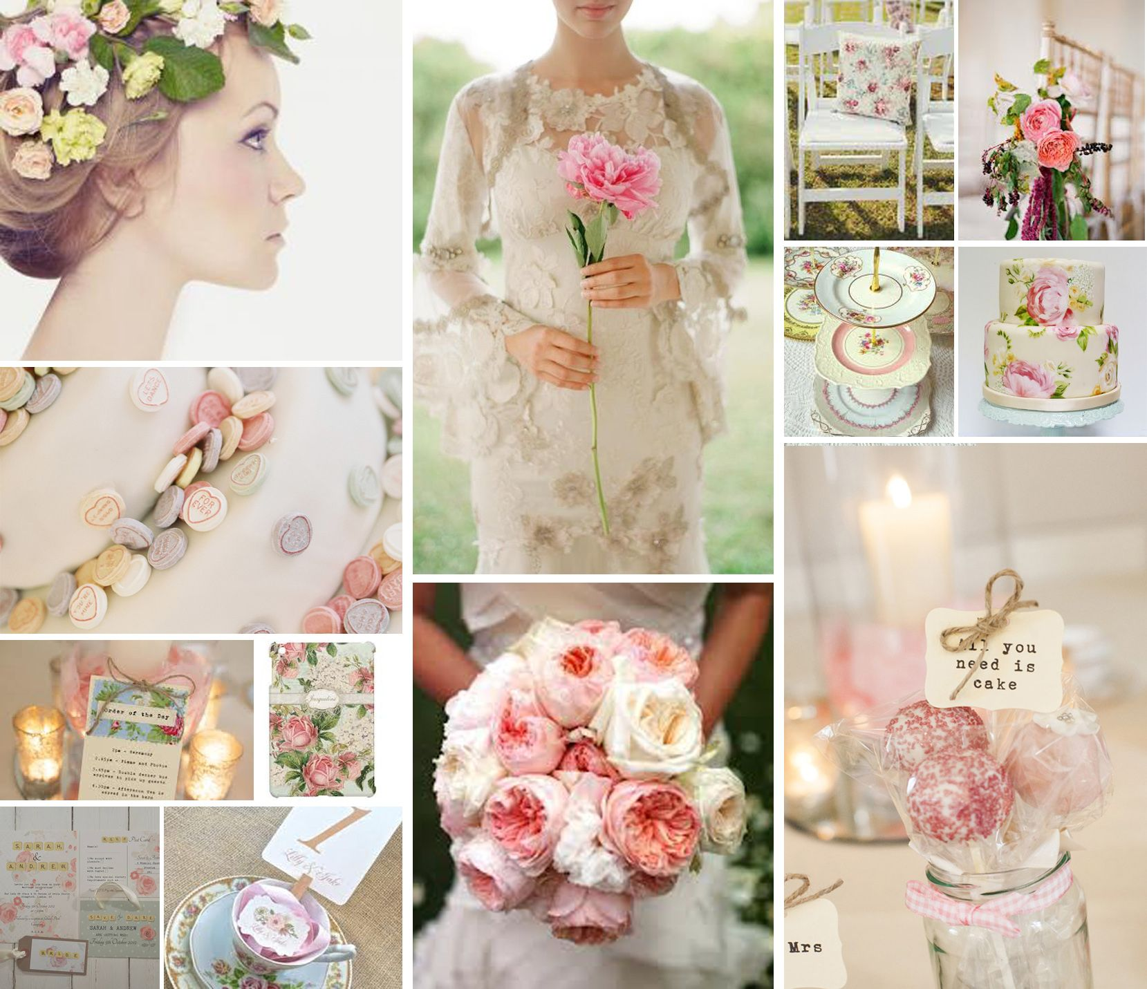 English Rose Themed Wedding | Themed wedding inspirations ...