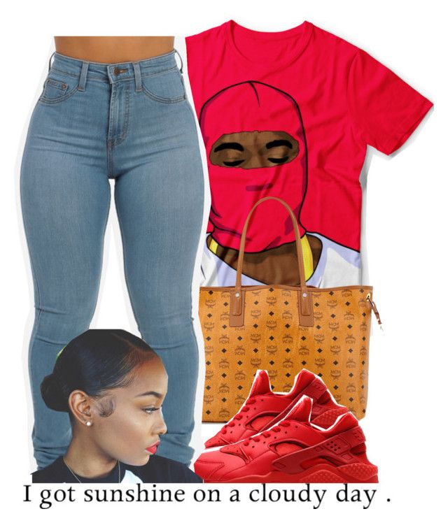 """""""Spring Fever"""" by fashionkilla-lex ❤ liked on Polyvore featuring MCM and NIKE"""