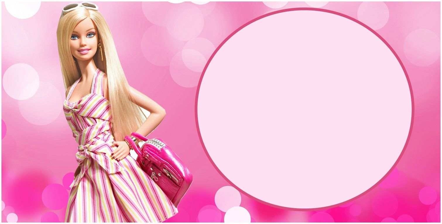 Free Printable Barbie Birthday Invitation Card Barbie Invitations Barbie Birthday Invitations Barbie Birthday
