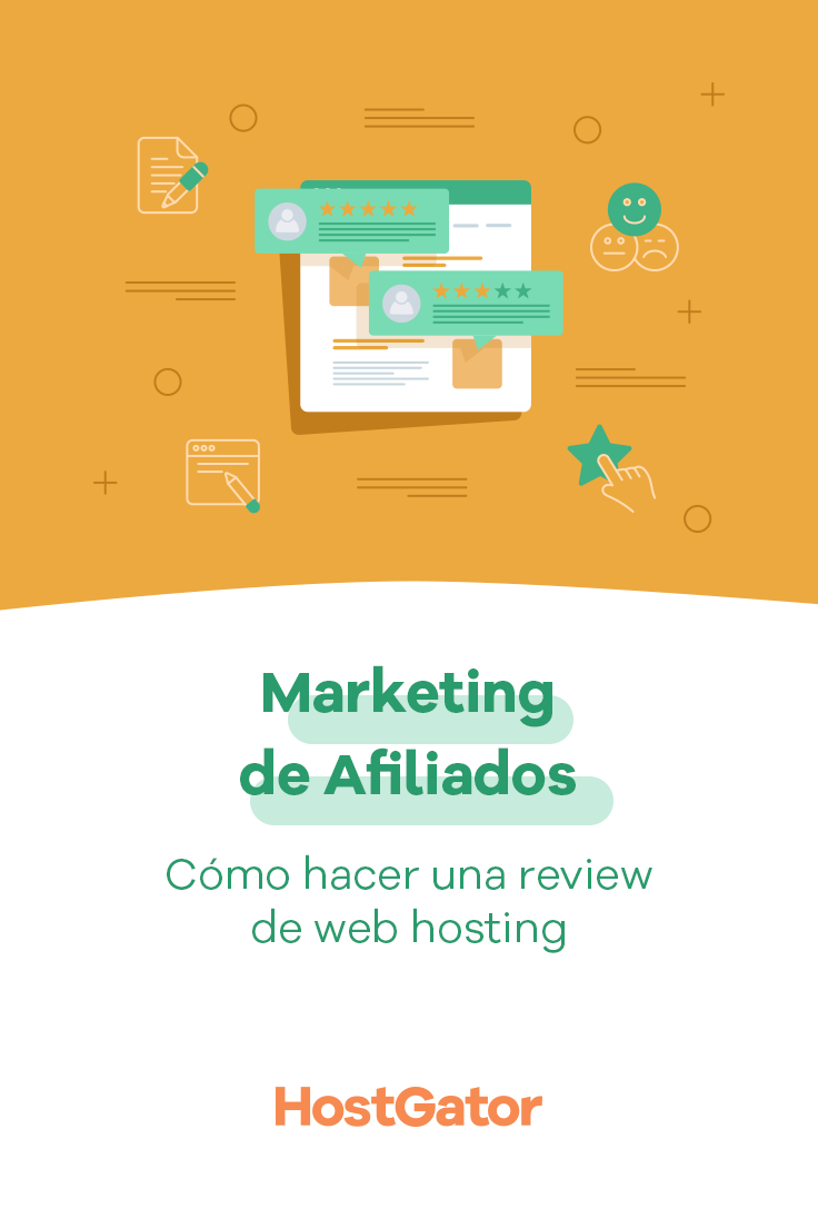 Marketing De Afiliados Cómo Hacer Una Review De Web Hosting Marketing De Afiliados Marketing Cómo Hacer