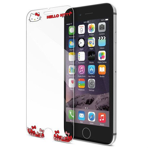 Genuine Hello Kitty Tempered Glass Film iPhone 7/ iPhone 7 Plus 9H Protective #HelloKitty