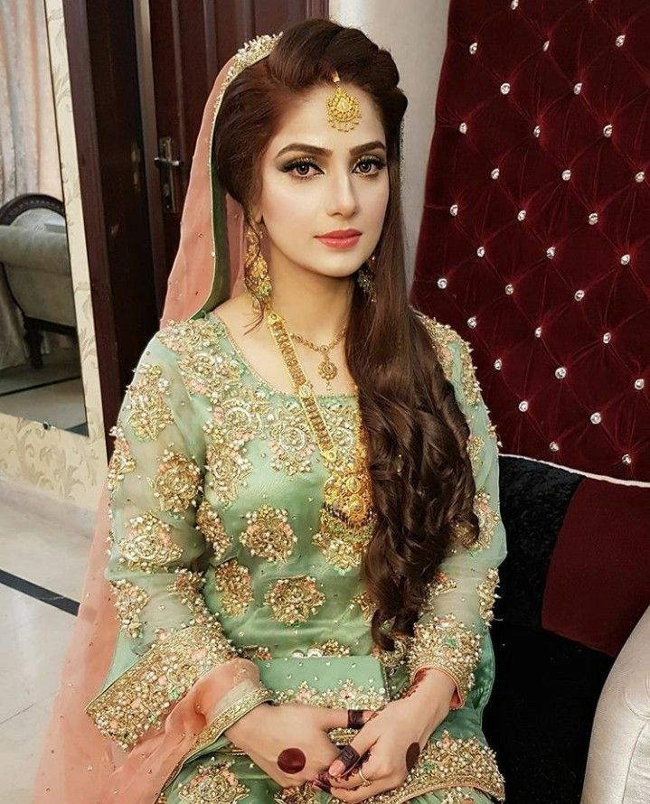 Pin by Faiza's Diary🌻 on make up in 2020 Bridal makeover