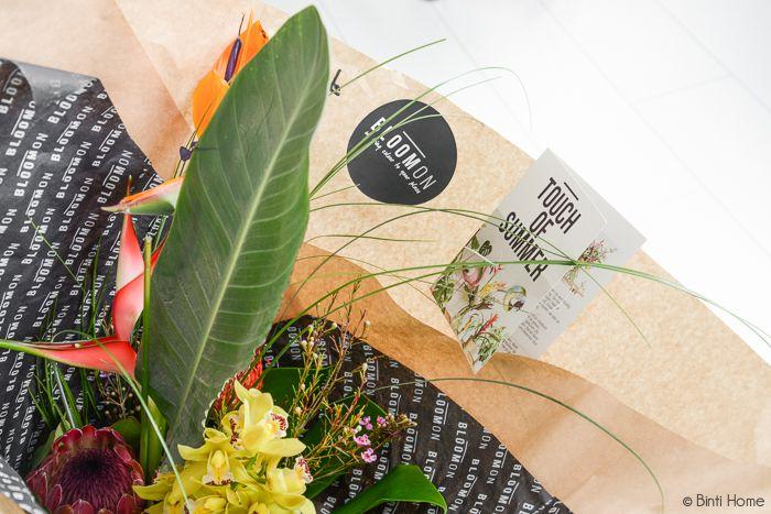Bloomon bloemabbonementen Styling en fotografie : Souraya Hassan, Binti Home