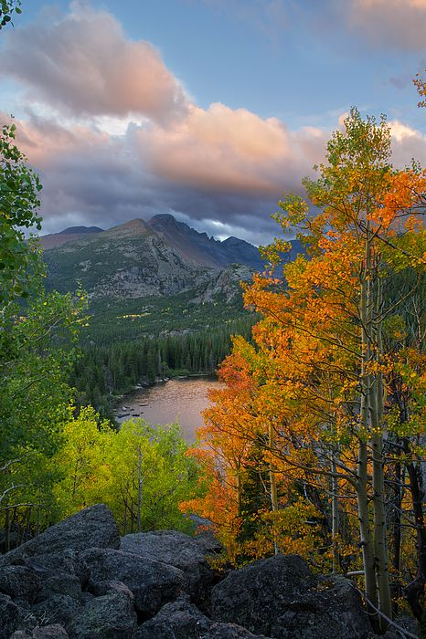 Bear Lake Autumn By Aaron Spong Nature Photos Landscape Sunset Photography