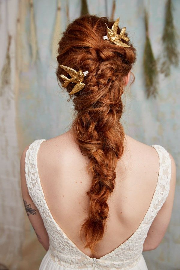 21 Fabulous Brides With Ginger Hair Bridal Hair Inspiration